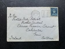 1937 BELGIUM > IRELAND CHINESE MISSION CONSENT CHINA MISSIONARY ! MOTHER GENERAL