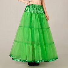 Long Skirts Wedding Petticoat Summer Dress A Line Crinoline Underskirt Petticoat