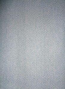 Half Meter x 135cm Isles Harris Duck egg blue Herringbone Tweed Curtain Fabric