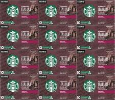Starbucks Italian Dark Roast K Cups Coffee 120 COUNT Best Before June 2020