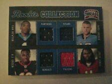2011 Threads Materials Quad Cam Newton Aj  Green Julio Jones /299 Rookie jerseys