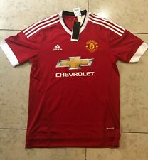 Authentic Adidas Manchester United Jersey Red M