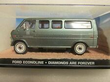 JAMES BOND CARS COLLECTION 108 Ford Econoline Diamonds are Forever