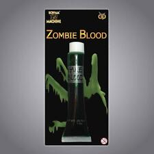 10 X FAKE GREEN BLOOD HALLOWEEN VAMPIREALIEN  ZOMBIE PARTY BAG GIFTS TOYS 11582