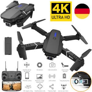 Mini Faltbar WIFI Drohne Mit 4K HD Kamera Quadrocopter RC Drone Selfie FPV DHL