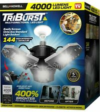 Bell+Howell Triburst Multi-Directional 4000 Lumen Super Bright 144 LED Light-NEW