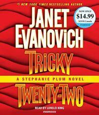 Janet Evanovich TRICKY TWENTY-TWO Stephanie Plum Unabridged CD *NEW* FAST Ship !