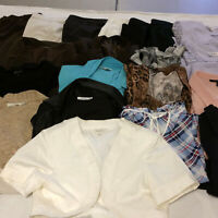 Womens Large Office Business Casual Clothes Lot Pants Blouses Suits Tops