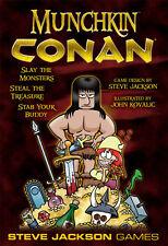 Munchkin Conan Base Set Steve Jackson Games Brand New Factory SEALED