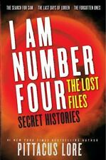 I Am Number Four: The Lost Files: Secret Histories by Pittacus Lore - BRAND NEW!