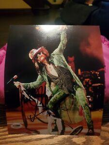 Steven Tyler Aerosmith Signed Autographed 8x10 Photo - PSA DNA