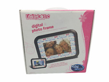 """Limited Too 7"""" Electric LCD Digital Display Photo Picture  Frame"""