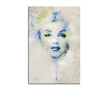 90x60cm PAUL SINUS Splash Art Gemälde Marilyn Monroe II Aqua Geschenkartikel