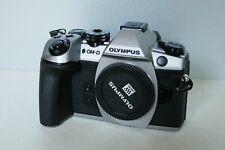 Olympus OM-D E-M1 Mark ii Mark 2 Silber Body