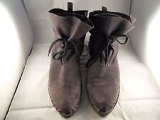 CHAOS & HARMONY dark grey 100% leather desert boots size 40 NEW ZEALAND NNC