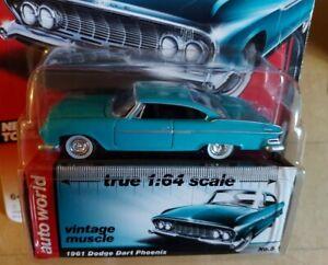 Auto World vintage muscle 1961 Dodge Dart Phoenix 1/64 die cast