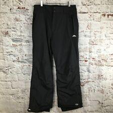 """Trespass XXL Black Ski Trousers Salopettes TP50 Snowboard Snow Waterproof 38"""""""