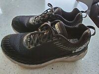 Womens Hoka One One Clifton 5 Black Running Shoes Size 8.5