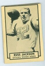 Russ Jackson 1962 Topps '62 Vintage Football Card #100 EXMT Ottawa Rough Riders
