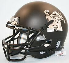 MEMPHIS TIGERS (Matte Black) Schutt XP Mini Helmet