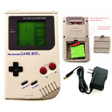 Rechargeable Nintendo Game Boy DMG-01 Console + Game Card + Charger