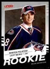 2008-09 Upper Deck Victory Rookie Nikita Filatov Rookie #316