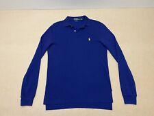 Polo Ralph Lauren Polo Shirt Mens ~ Sz Small ~ Great Cond Long Sleeves 3 Button