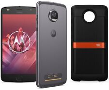 Motorola Moto Z2 Play 64Go Gris Dual SIM + MOTO Mods JBL enceinte SoundBoost 2