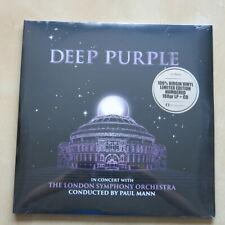 DEEP PURPLE In Concert With London Symphony Orch. 3 x 180 gram vinyl LP + CD