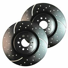 EBC GD Sport Rotors / Turbo Grooved Upgraded Rear Brake Discs (Pair) - GD1333