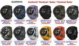Garmin Instinct all models Tactical / Solar / Tactical Solar / SURF