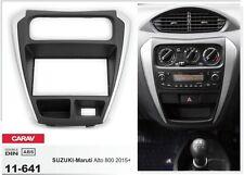 CARAV 11-641 2-DIN Car Radio Dash Kit panel for SUZUKI-Maruti Alto 800 2015+