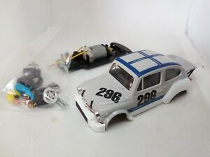 SCALEXTRIC REPROTEC Slot Car FIAT 1000 TC Abarth Nurburgring - Kit completo