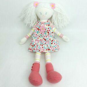 Kate Finn  ragdoll rag doll plush soft toy White hair