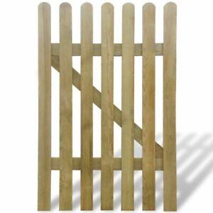 vidaXL Garden Gate Wood Outdoor Garden Patio Panel Barrier Multi Sizes