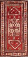 Antique Tribal Lori Oriental Wool Area Rug Hand-Knotted Carpet 5x10 COLLECTIBLE