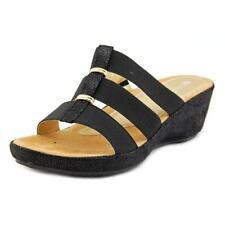 Sandalias y chanclas de mujer Spring Step color principal negro sintético