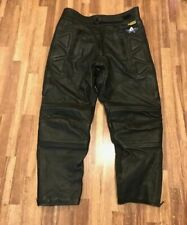 Akito Leather Motorbike Trousers Size UK 34/ EU 52 Bargain