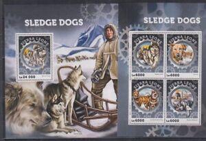 J900. Sierra Leone - MNH - Animal Kingdom - Sledge Dogs - Nature