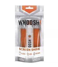 WHOOSH! Screen Shine POCKET - Includes 3.4Oz bottle + 1 Premium Microfiber cloth