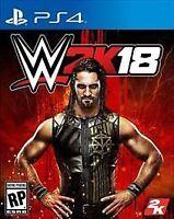 WWE 2K18 (Sony PlayStation 4, 2017) PS4 W2k18 2018 PS4 Complete CIB W/ Manual
