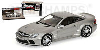 Mercedes SL65 Amg 2009 Top Gear Grey Metallic 1:43 Model 519433820 MINICHAMPS