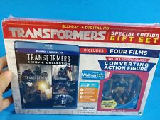 Transformers 4-Movie Collection (Blu-Ray + DIGITAL) SE Gift Set w/ BUMBLEBEE fig