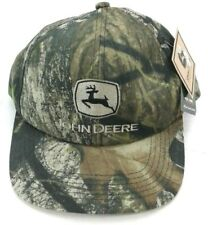 John Deere Men's  Mossy Oak Snapback Embroidered Logo NWT