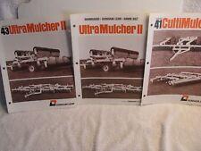 Mid 1980s Dunham Lehr UltraMulcher II and CultiMulcher Brochures