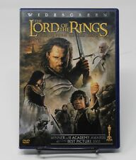 Lord of the Rings Return of the King 2 Disc Dvd Set Frodo Widescreen