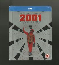 2001 A SPACE ODYSSEY - UK EXCLUSIVE BLU RAY STEELBOOK - NEW & SEALED