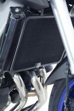R&G BLACK RADIATOR GUARD for YAMAHA MT-09 (FZ-09), 2013 to 2018