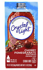 10 10-Packet Boxes Crystal Light Cherry Pomegranate On The Go Drink Mix