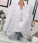 CHEMISE DE PÊCHEUR TUNIQUE chemise CHEMISIER EXTRA-LARGE ANCRE 42 44 Blanc Bleu
